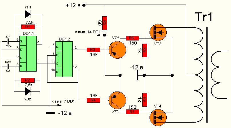 Схема смесителей на встречно-параллельных диодах › Паятель ...