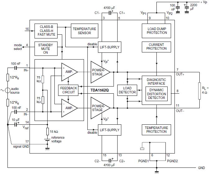 Ha13118 схема включения